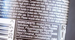 DEO Ingredients