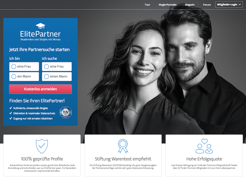 Elitepartner Impressum